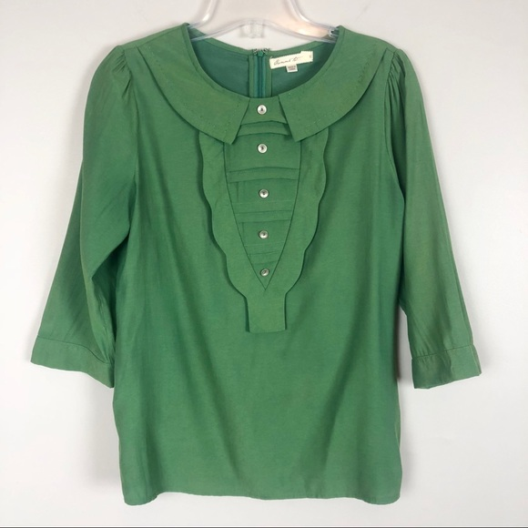 ad1c9f50edeb Comme Toi Tops   Buy2get1free Green Top Size Small   Poshmark